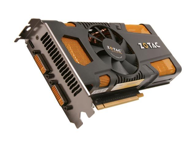 ZOTAC AMP! GeForce GTX 560 Ti (Fermi) DirectX 11 ZT-50302-10M 1GB 256-Bit GDDR5 PCI Express 2.0 x16 HDCP Ready SLI Support Video Card