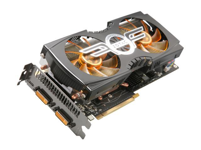 ZOTAC AMP2! GeForce GTX 580 (Fermi) DirectX 11 ZT-50104-10P Video Card