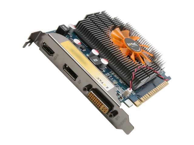ZOTAC GeForce GT 430 (Fermi) DirectX 11 ZT-40604-10L 1GB 128-Bit DDR3 PCI Express 2.0 x16 HDCP Ready Video Card
