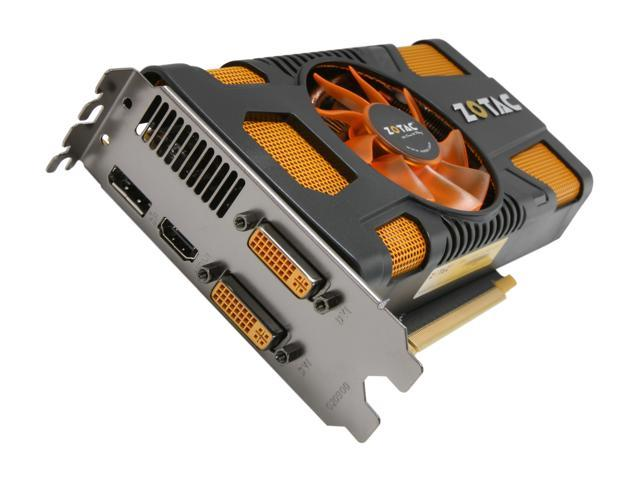 ZOTAC GeForce GTX 560 (Fermi) DirectX 11 ZT-50701-10M Video Card