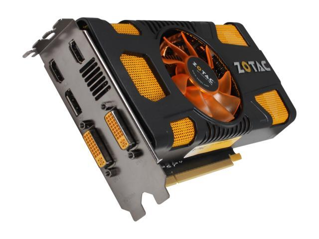 ZOTAC GeForce GTX 560 (Fermi) DirectX 11 ZT-50706-10M Video Card