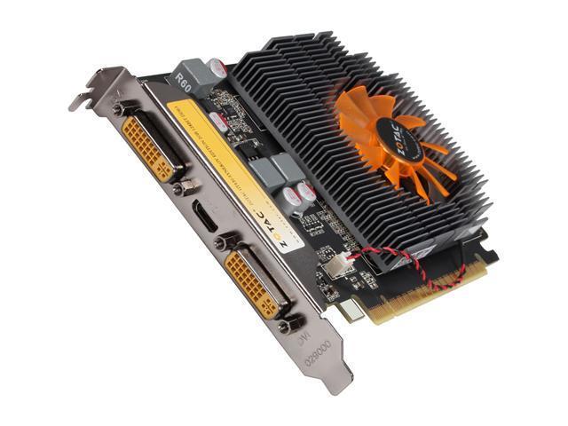 ZOTAC GeForce GT 430 (Fermi) DirectX 11 ZT-40608-10L 2GB 128-Bit DDR3 PCI Express 2.0 x16 HDCP Ready Video Card