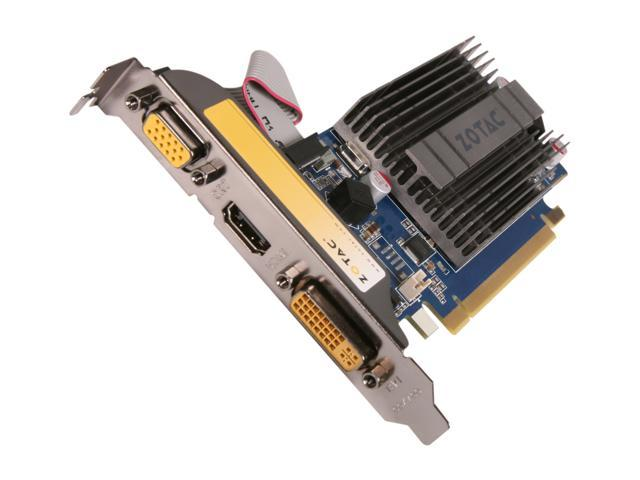 ZOTAC GeForce 8400 GS DirectX 10.1 ZT-84GEL2M-HSL Video Card