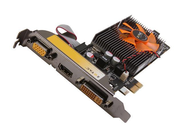 ZOTAC GeForce GT 520 (Fermi) DirectX 11 ZT-50608-10L Video Card