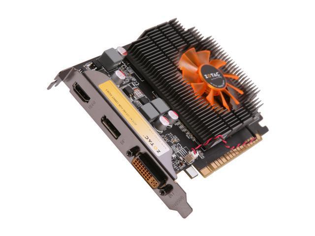 ZOTAC GeForce GT 430 (Fermi) DirectX 11 ZT-40604-10L-R 1GB 128-Bit DDR3 PCI Express 2.0 x16 HDCP Ready Video Card