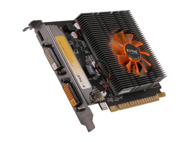 ZOTAC GeForce GT 640 DirectX 11 ZT-60201-10L 2GB 128-Bit DDR3 PCI Express 3.0 x16 HDCP Ready Video Card