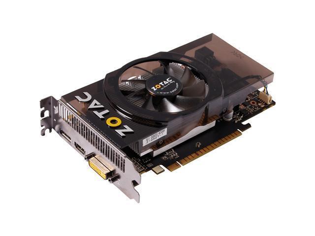 ZOTAC GeForce GTS 450 (Fermi) ZT-40506-10L Video Card
