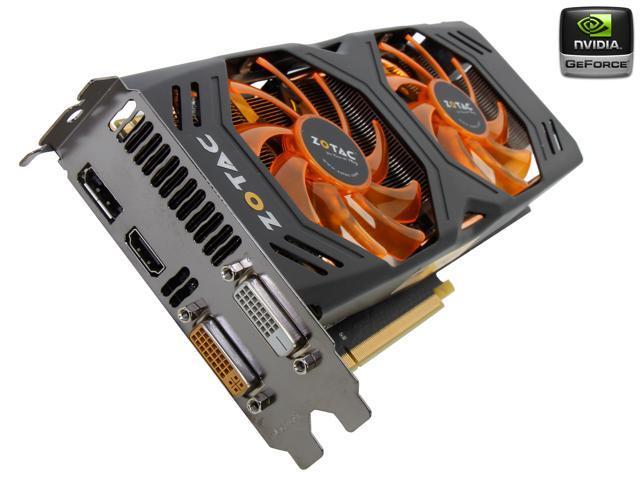 ZOTAC GeForce GTX 770 DirectX 11.1 ZT-70304-10P Video Card