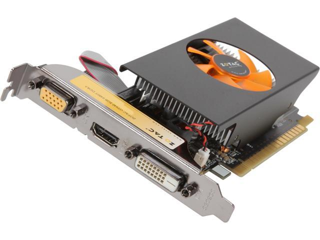 ZOTAC GeForce GT 640 DirectX 11.1(feature level 11_0) ZT-60209-10L Video Card