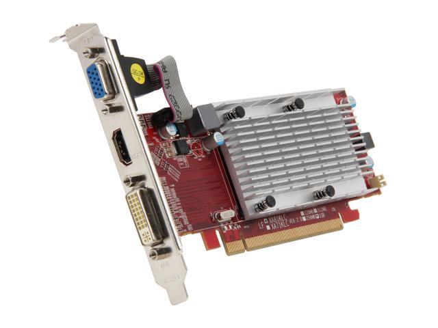 DIABLOTEK Radeon HD 5450 DirectX 11 VX5450 1GBK3-H 1GB 64-Bit DDR2 PCI Express 2.0 x16 HDCP Ready Video Card