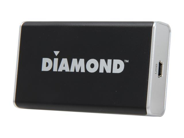 Diamond BVU195 USB Display Adapter (DVI and VGA with included DVI to VGA adapter)