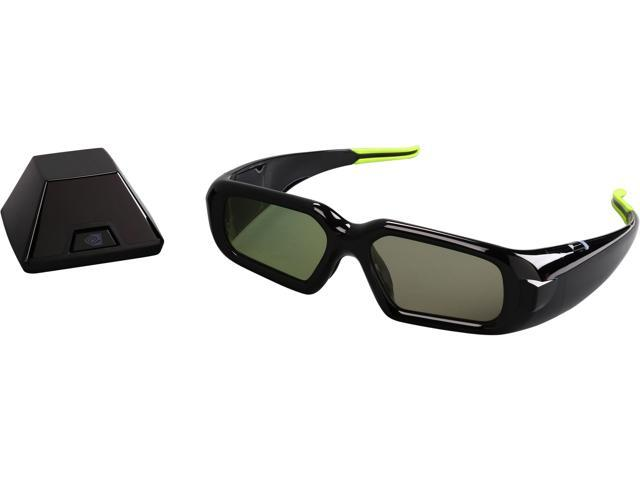 NVIDIA - 3D Stereo Glasses Kit with Emitter