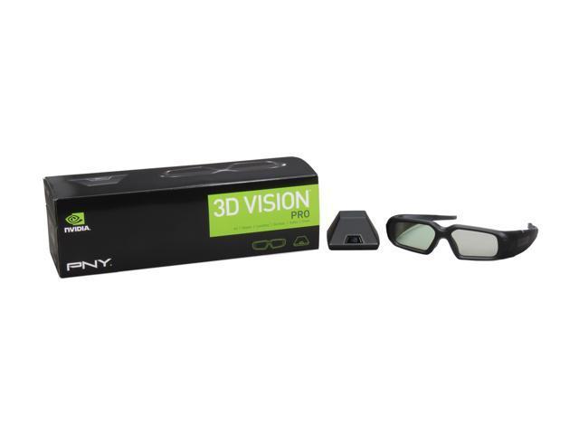 PNY 3D Vision Pro Glasses + Emitter Model X3DVIZPRO-GLASSES+EMT