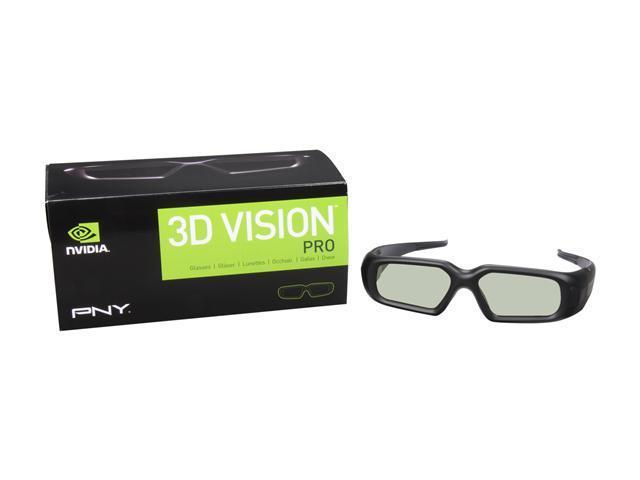 PNY 3D Vision Pro Glasses - Glasses Only Model 3DVIZPRO-GLASSES