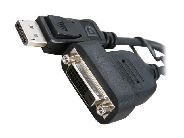 POWERCOLOR Active DisplayPort to Single-Link DVI-D Adapter DP-SL DVI-D ADAPTER