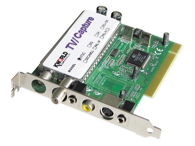 KWorld VS-TV878RF TV Tuner/Video Capture Card with REMOTE