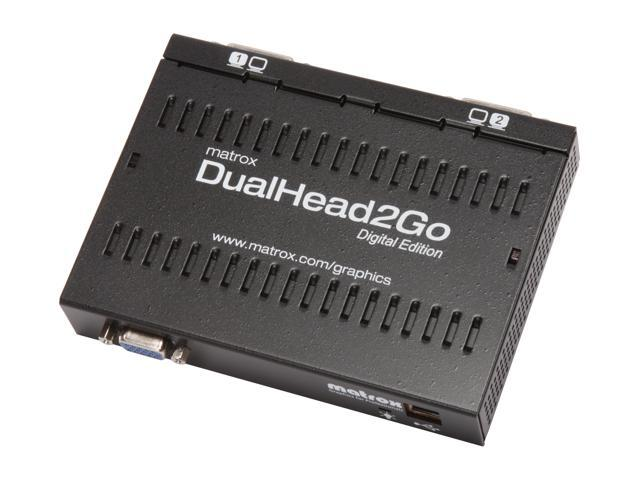 Matrox Graphics eXpansion Module DualHead2Go Analog video converter D2G-A2D-IF