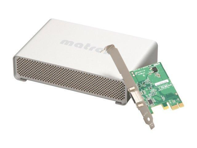 matrox MXO2MINI/ D High Definition HDMI and Analog I/O with PCIe Card for Mac Pro and PC Desktops