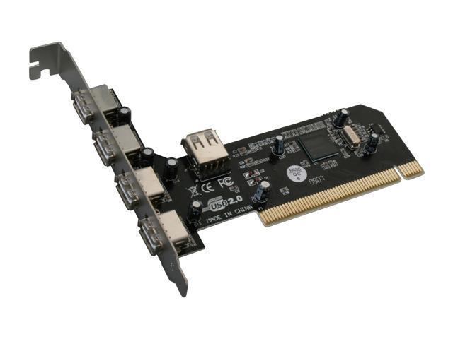 MASSCOOL 5-Port USB2.0 PCI Card Model MTU25