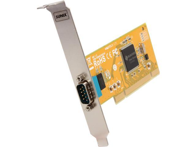 SUNIX 1-port RS-232 Universal PCI Serial Board Model SER5027A+L
