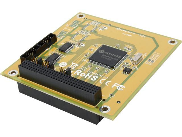 SUNIX 2-port RS-232 PCI/104 Module Board SER5337A