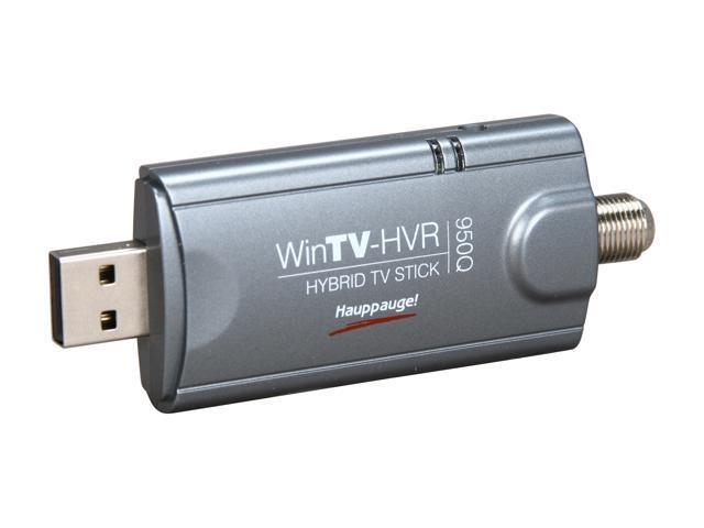 Hauppauge 1191 WinTV-HVR-955Q TV Tuner Stick/Hybrid Video Recorder with Remote Control