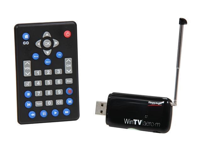Hauppauge WinTV-Aero-m Mobile TV Receiver - ATSC / ATSC-M/H USB 2.0 Tuner