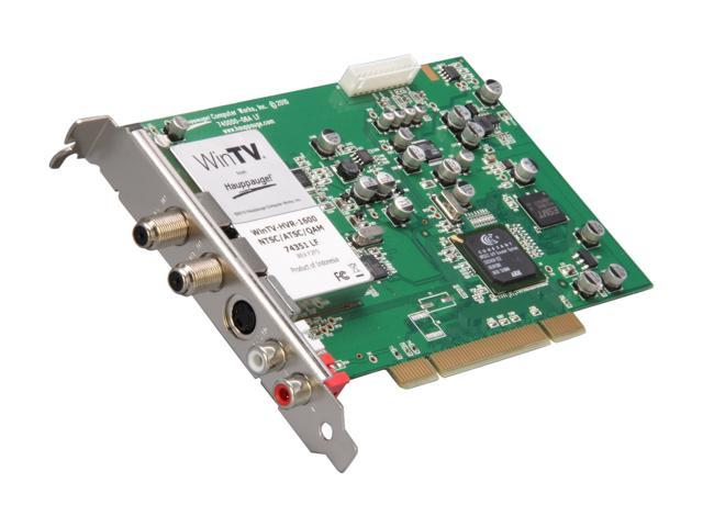 Hauppauge 1387 ATSC HDTV/QAM receiver/analog TV/radio tuner/video input adapter - plug-in card