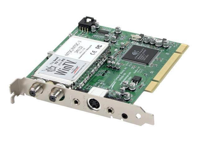 Hauppauge TV/FM Tuner Card 401 PCI Interface