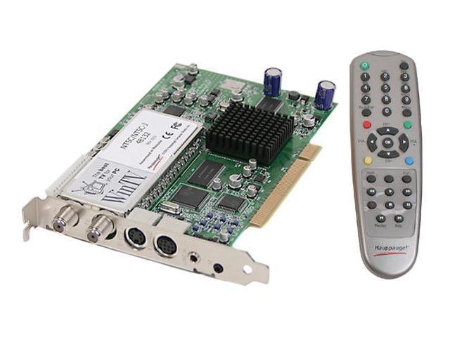 Hauppauge Video Recorder, TV/FM Tuner Card WinTV PVR 350 PCI Interface