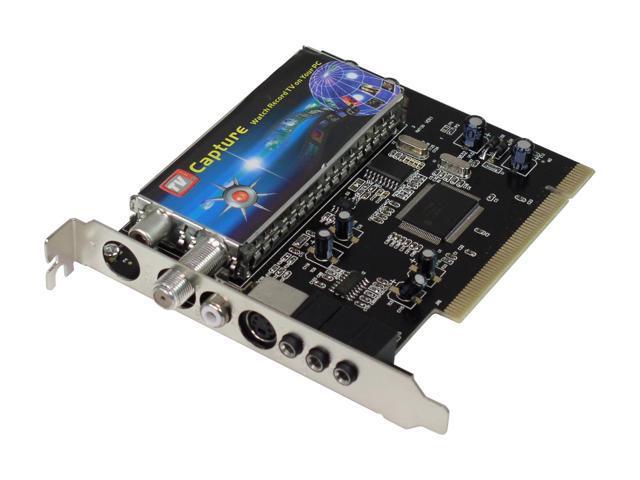 SABRENT SBT-TVFM TV Tuner Video Capture Card FM Radio w/ Remote