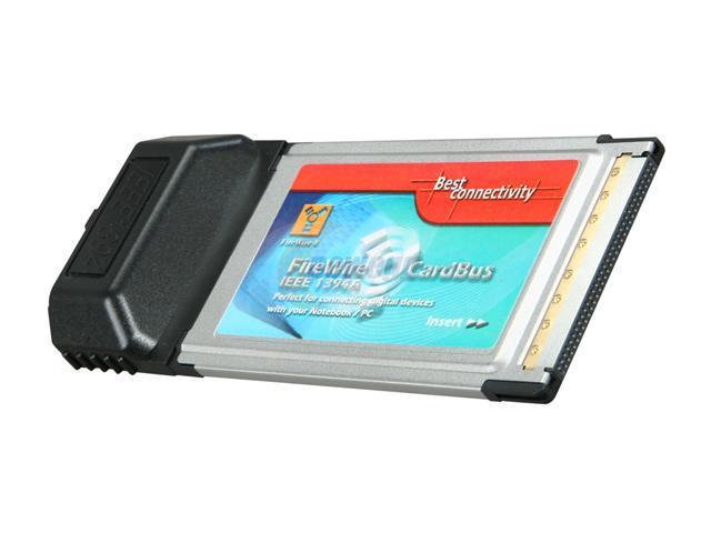 SYBA SD-PCB-2F IEEE 1394 PCMCIA Card