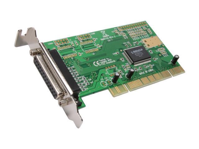 SYBA PCI Lower Profile Single Port Parallel Card Model SD-LP-MCS1P
