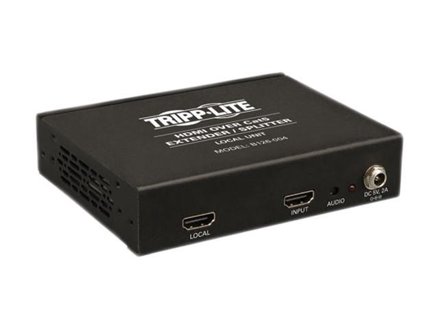 Tripp Lite 4-Port HDMI over Cat5 / Cat6 Extender Splitter, Transmitter for Video and Audio, 1080p at 60Hz(B126-004)