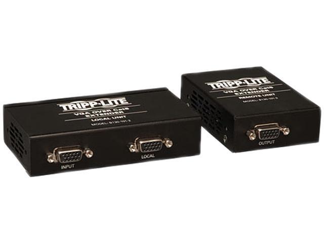 Tripp Lite VGA over Cat5 Extender Kit ( Transmitter + Receiver ) B130-101-2