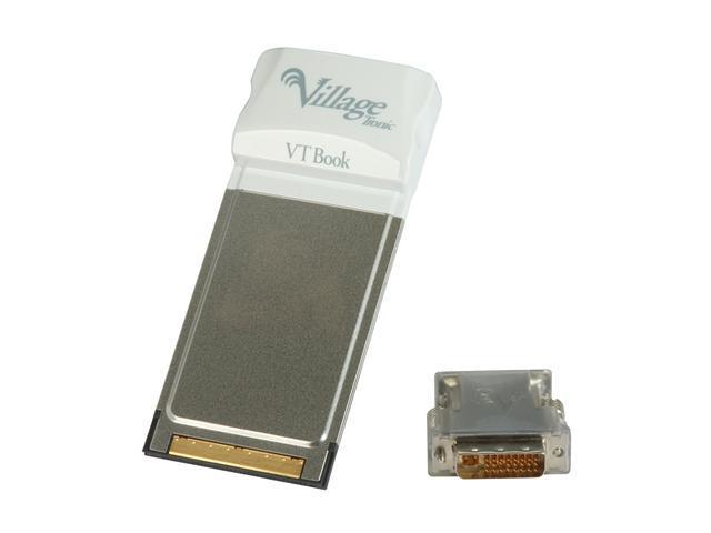 HIS HVTBOOK Notebook PC Card to DVI Video Adapter