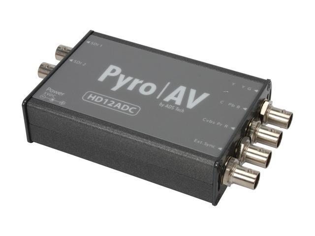 Pyro AV HD12ADC Multi-Rate 12 bit Analog Video to HD/SD-SDI