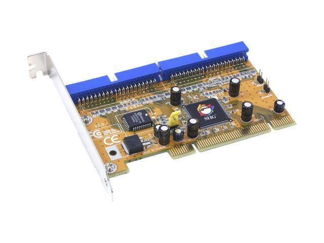 SIIG SC-PE4B12 32-bit PCI IDE High-Speed Dual Channel Host Controller