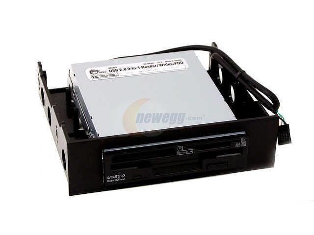 SIIG JU-91RW12 9-in-1 USB 2.0 R/W + FDD DRIVE