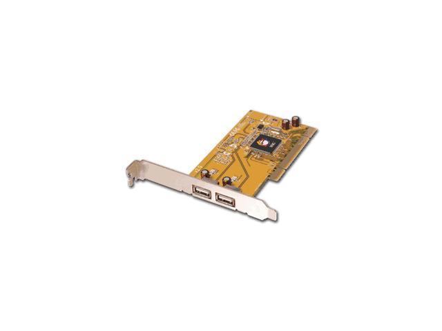 SIIG USB 2.0 Dual-Port PCI Card Model JU-P20212-S2