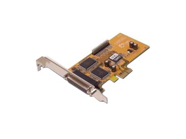 SIIG 2-port ECP/EPP/BPP high-speed parallel PCI Express adapter Model JJ-E02011-S1