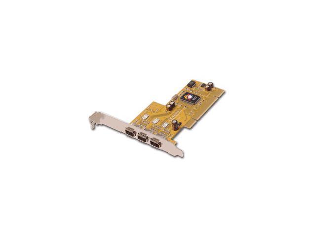 SIIG 3-port 1394 (FireWire) I/O card Model NN-300012-S6