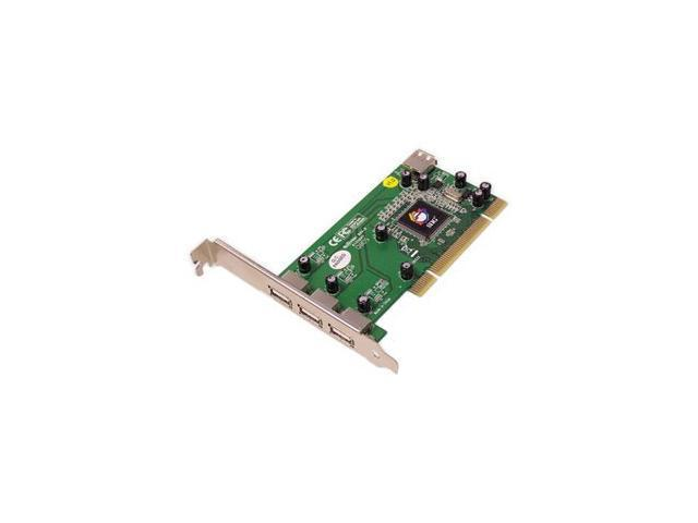 SIIG Dual Profile Hi-Speed USB 4-Port PCI Model JU-000042-S1