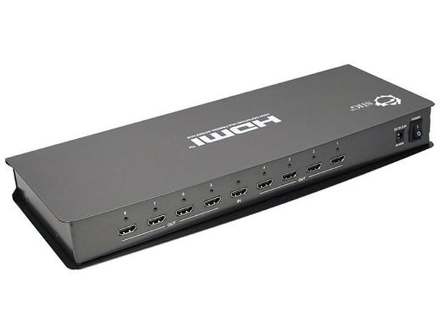SIIG 1x8 HDMI Splitter with 3DTV Support CE-H20V11-S1