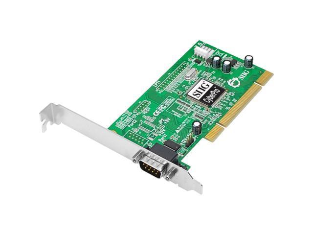 SIIG DP CyberSerial PCI Model JJ-P01012-S7 - OEM
