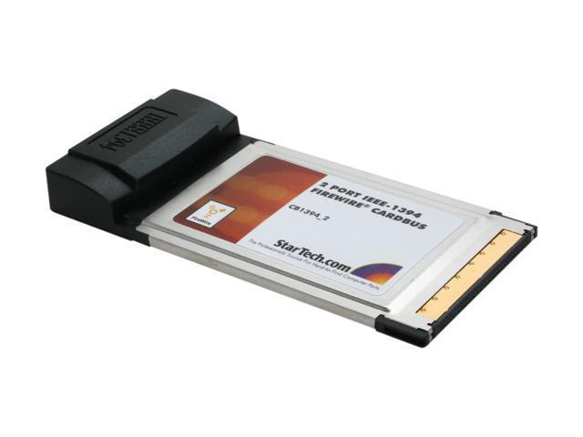 StarTech CB1394_2 IEEE 1394 PCMCIA Card