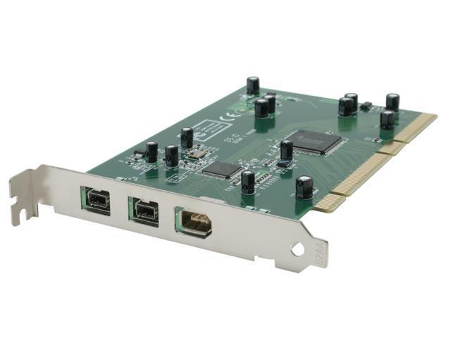 StarTech PCI1394B_3 3 Port PCI 1394b FireWire Adapter Card with Digital Video Editing Kit