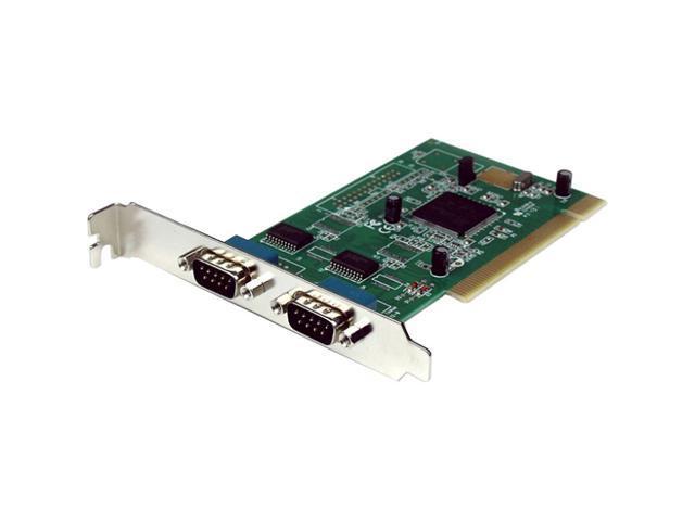 StarTech 2 Port 16950 Serial PCI Card Model PCI2S950