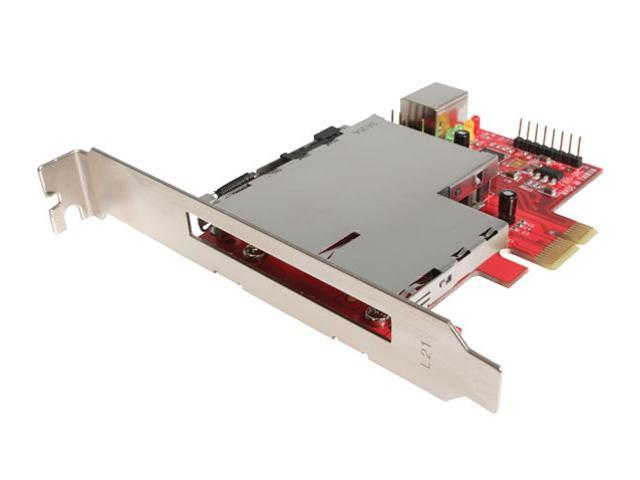 StarTech Dual Profile PCI Express to ExpressCard Adapter Model PEX2ECDP