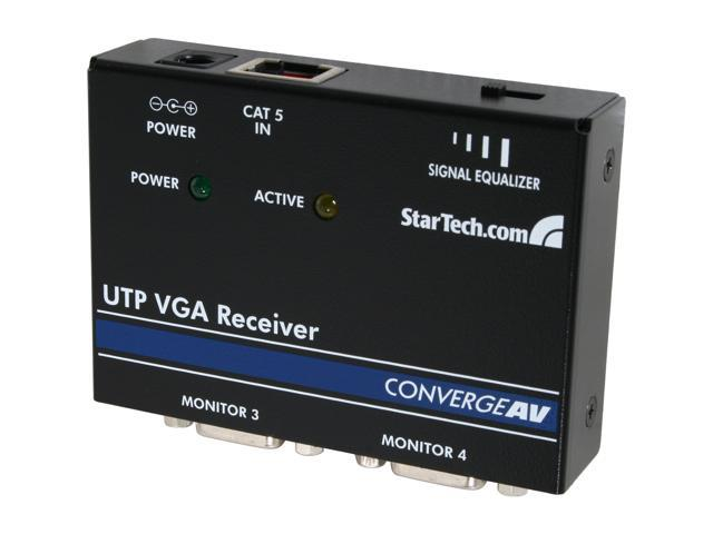 StarTech VGA over CAT 5 Remote Receiver ST121R for Video Extender